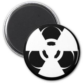 Ímã radioativo do símbolo do Biohazard Ímã Redondo 5.08cm