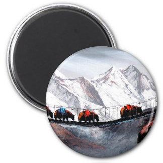 Imã Rebanho de iaques Himalaya da montanha
