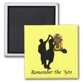 """Imã """"Recorde o anos 50 """""""