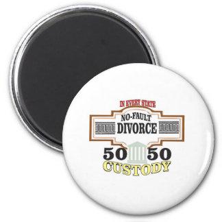Imã reduza a custódia 50 50 automática dos divórcios