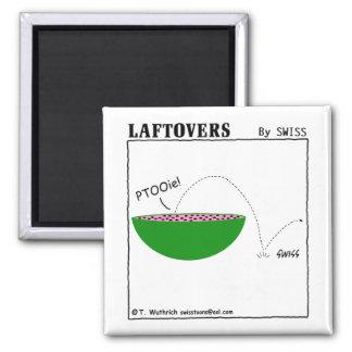 Imã Refrigerador bonito engraçado de Laftovers da