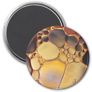 Imã Refrigere o ímã abstrato das bolhas do líquido