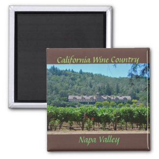 Imã Região vinícola de Napa Valley Califórnia