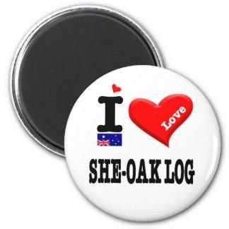 Imã REGISTRO de SHE-OAK - amor de I