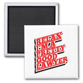 Imã Relaxe-me são um relativamente bom advogado
