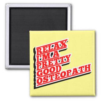 Imã Relaxe-me são um relativamente bom osteopata