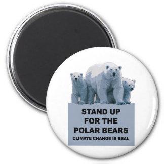 Imã Represente acima os ursos polares