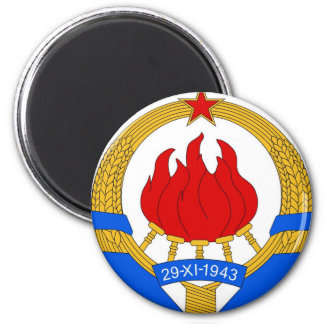 Imã República federal socialista do emblema de