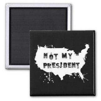 Imã Resista não meu presidente Grunge Protesto