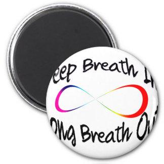 Imã respiração infinita