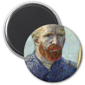 Imã Retrato de auto de Van Gogh