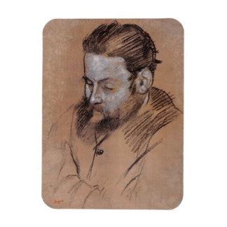 Ímã Retrato de Edgar Degas | de Diego Martelli