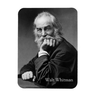 Ímã Retrato essencial de Walt Whitman