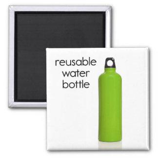 Ímã reusável do refrigerador da garrafa de água ímã quadrado