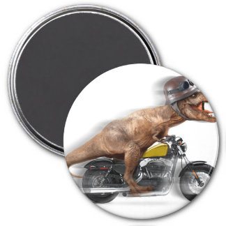 Imã Rex dos motocicleta-tiranossauros-t do rex de T -