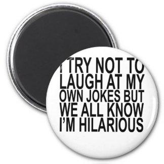 Imã Ria para possuir t-shirt engraçados das citações