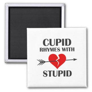 Imã Rimas do Cupido com dia dos namorados estúpido