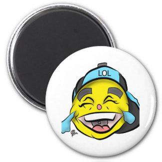 Imã Riso para fora Emoji alto