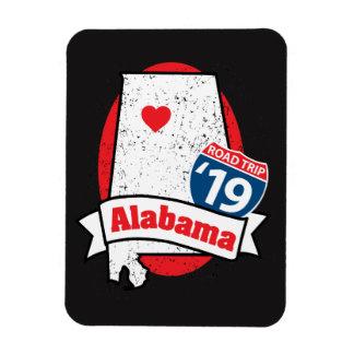 Ímã Roadtrip '19 Alabama - obscuridade
