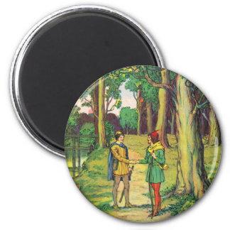 Imã Robin Hood e John pequeno