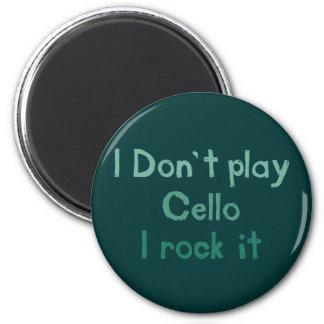 Imã Rocha do violoncelo ele ímã