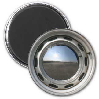 Imã Roda de carro de 356 clássicos (borda) com hubcap