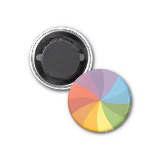 Imã Roda de giro do arco-íris