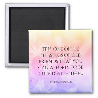 Imã Rosa bonito das citações da amizade
