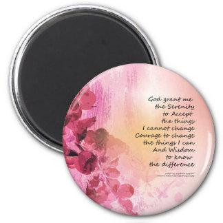 Imã Rosa da cerca 3 do marmelo da oração da serenidade