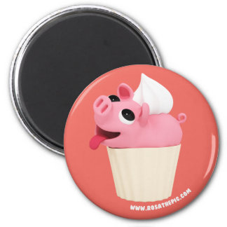 Imã Rosa the Pig is a CupCake