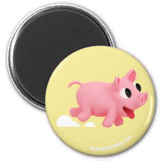 Imã Rosa the Pig love Running
