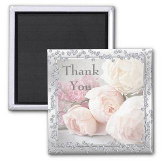 Imã Rosas & obrigado românticos dos diamantes você