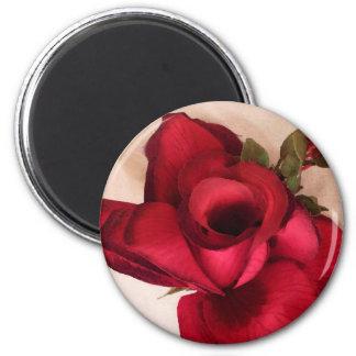 Imã Rose-Love_ vermelho