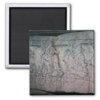 Imã Ruínas maias antigas cinzeladas pedra Copan