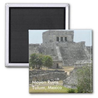 Imã Ruínas maias em Tulum, México