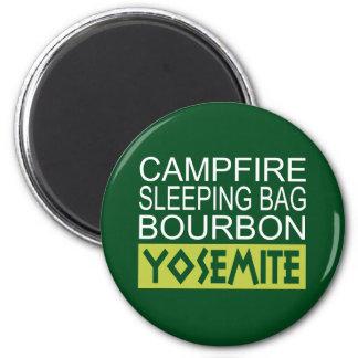 Imã Saco de sono Bourbon da fogueira Yosemite