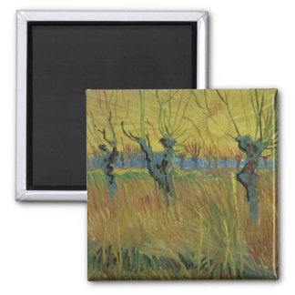 Imã Salgueiros Pollarded | de Vincent van Gogh, ajuste