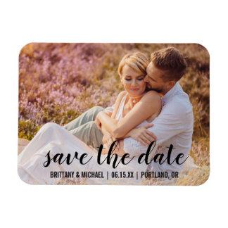 Ímã Salvar o casal da data o noivado da foto que