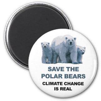 Imã Salvar os ursos polares