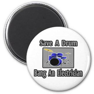 Imã Salvar um golpe do cilindro… um eletricista