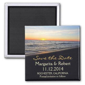 imã salve o dia do casamento de praia