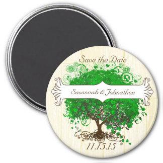 Imã salve o dia esmeralda da árvore da folha do