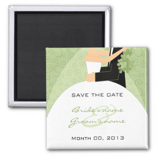 Imã salve o dia verde dos noivos