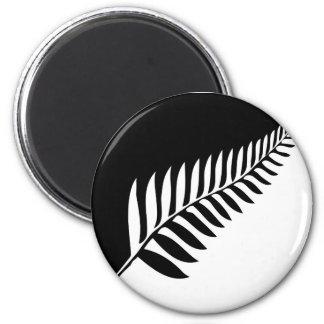 Imã Samambaia de prata de Nova Zelândia