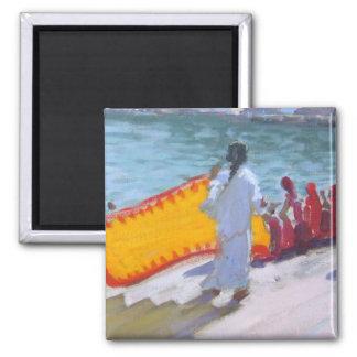 Imã Sari de secagem Pushkar