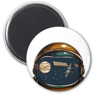 Imã satélite da NASA e a lua