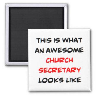 Imã secretário impressionante da igreja