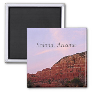Imã Sedona, rochas do vermelho da arizona