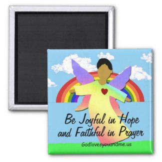 Imã Seja alegre na esperança e fiel na oração