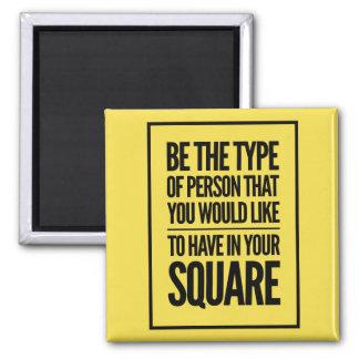 Imã Seja o tipo de pessoa